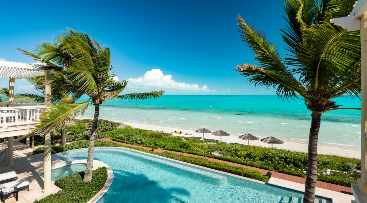 6 Bedrooms, House, Vacation Rental, 6 Bathrooms, Listing ID 2230, Long Bay, Providenciales, Turks and Caicos, Caribbean,