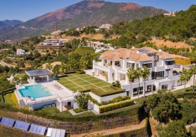 9 Bedrooms, Villa, Vacation Rental, 9 Bathrooms, Listing ID 2340, Marbella, Costa del Sol, Province of Malaga, Andalucia, Spain, Europe,