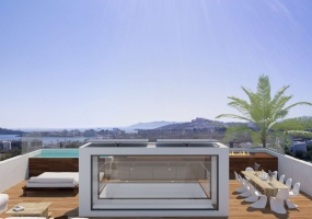 2 Bedrooms, Villa, Vacation Rental, 3 Bathrooms, Listing ID 2346, Ibiza, Balearic Islands, Spain, Europe,