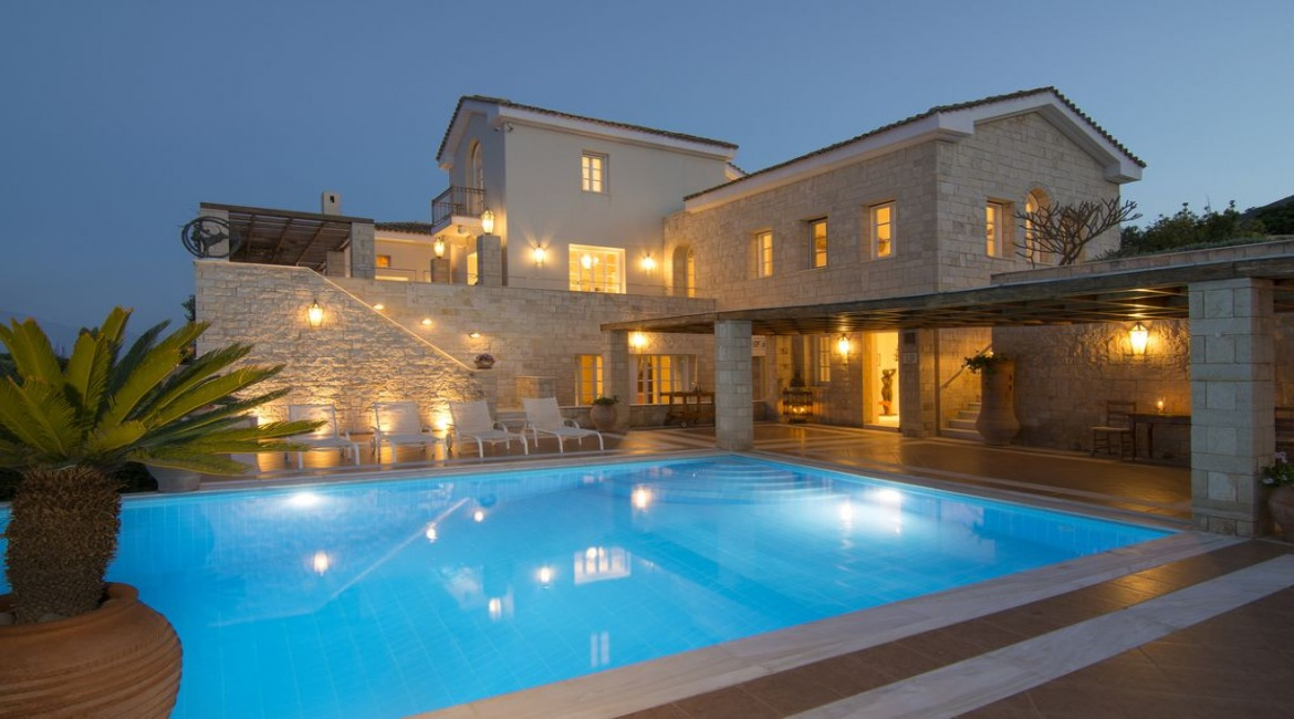 6 Bedrooms, Villa, Vacation Rental, 9 Bathrooms, Listing ID 1026, Lasithi Prefecture, Crete, Greece, Europe,