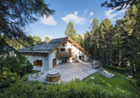 6 Bedrooms, Villa, Vacation Rental, Chesa el Toula, 6 Bathrooms, Listing ID 1602, Canton of Graubunden, Swiss Alps, Switzerland, Europe,