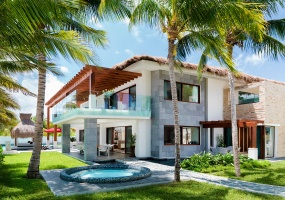 6 Bedrooms, Villa, Vacation Rental, Azul Esmeralda, 6 Bathrooms, Listing ID 1620, Riviera Maya, Quintana Roo, Yucatan Peninsula, Mexico,