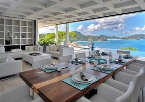5 Bedrooms, Villa, Vacation Rental, Baie de Saint Jean, 5 Bathrooms, Listing ID 1772, Pointe Milou, Saint Barthelemy, Caribbean,